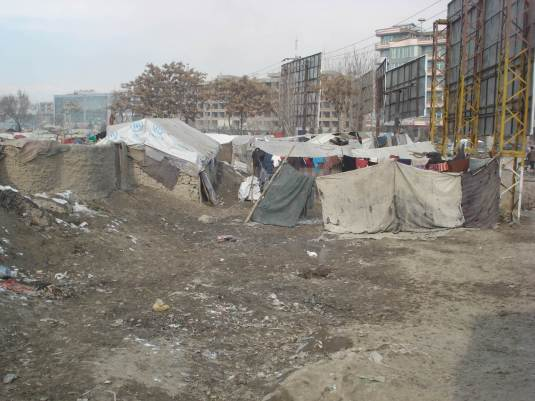 Aschiana's photo of a refugee camp in Afghanistan